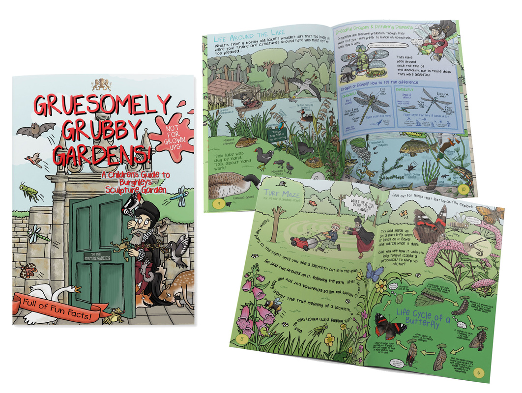 Illustration of illustrated children's guidebook by children's illustrator Emma Metcalfe