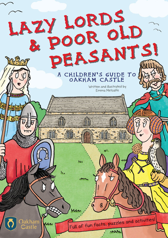 Front cover illustration of Lazy Lords and Poor Old Peasants children's guidebook